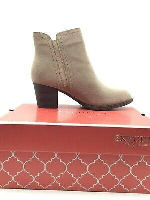 corto escritorio junio  Skechers Women's Taxi Don't Trip Ankle Boot in Dark Taupe Size 9 (US)  192283762734   eBay