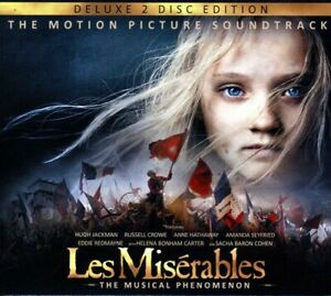 Original Soundtrack Les Miserables 2012 2 Disc Deluxe Edition Cd New 602537342761 Ebay