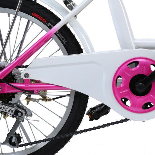 Details about  /Ridgeyard Children Kids 20 inch 6 Speed Bike for Girls// Boy Bicycle Cicycle