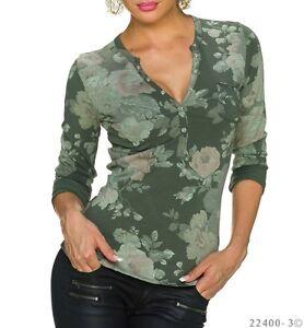 Tee-shirt//Top Femme//Woman en coton fabriqué en Italie