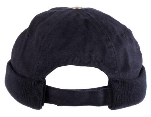 MFH Pro Company Roundcap ohne Schirm Mütze Kappe Cap Rundkappe Schwarz Blau