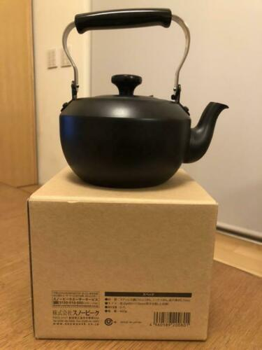 Snow Peak Teapot Classic 0.7 Matte Black Limited from Japan Free Shipping