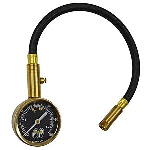 mooneyes tire pressure gauge rat hot rod custom bike vw buggy offroad race ebay. Black Bedroom Furniture Sets. Home Design Ideas