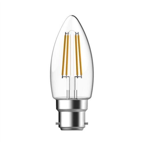 4w Energizer Filament LED 470lm B22 Warm White Bc