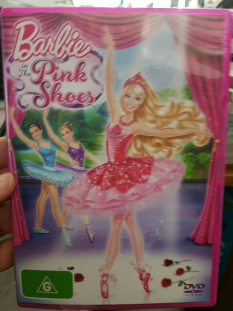 Barbie In The Pink Shoes - DVD MOVIE 💜💜💜 FREE POST