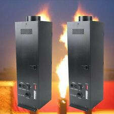 2Pcs 200W DMX Flame Thrower Effect Fire Thrower Stage Machine Party Projector