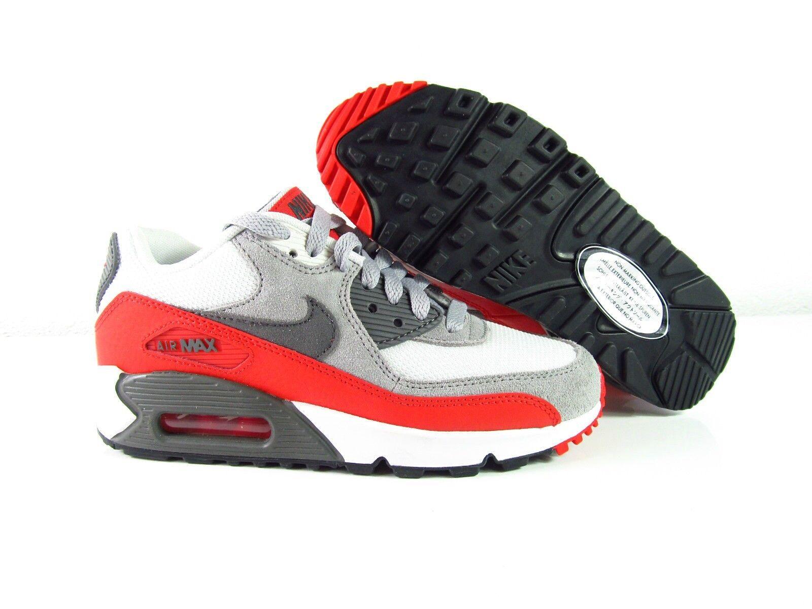 Nike Air Max 90 GS Classic Retro Schwarz Rot Weiss1 87 Sneaker Schuhe