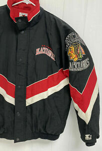Chicago-Blackhawks-Authentic-Center-Ice-Collection-by-Starter-vintage-jacket