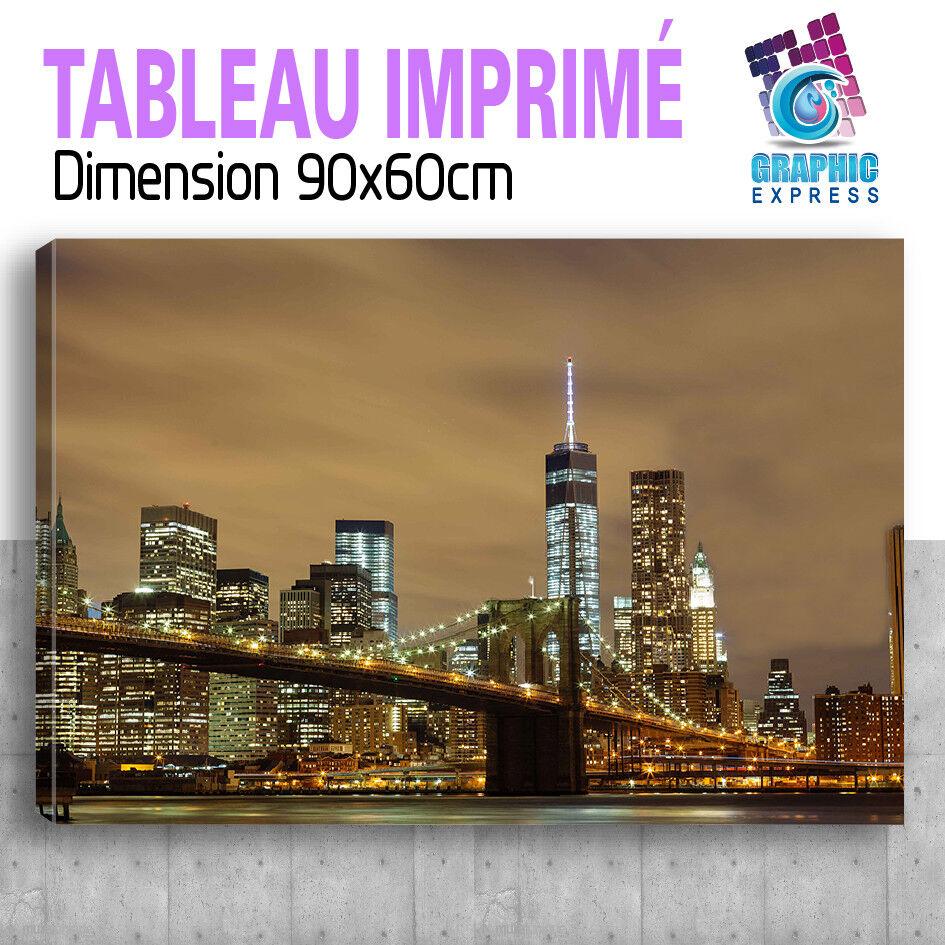 TABLEAU NEW YORK PARIS LONDON MURALE ART DECO MURALE LONDON  - NY28 725d9d