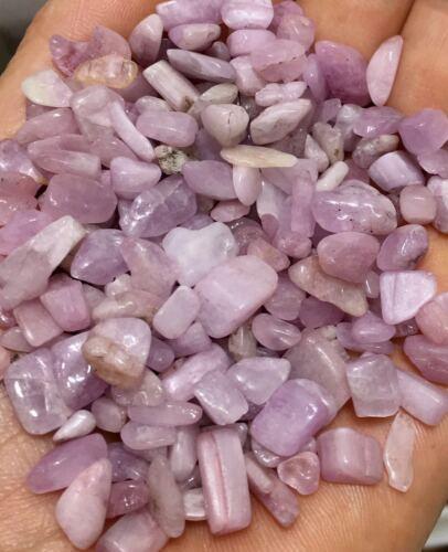 100g Natural Pink Morganite Stone Quartz Crystal Rough Polished Gravel