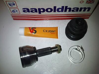 FORD KA 1.3 DRIVESHAFT HUB NUT /& CV JOINT BOOT KIT BOOTKIT-GAITER 1996/>2006