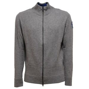 6216v Maglione Uomo North Sails Grey Full Zip Wool Sweater Men Ebay