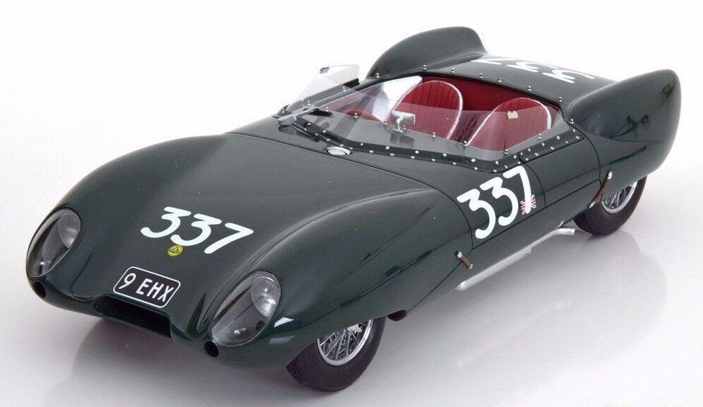 Bos 1957 Lotus Eleven Guida a Destra  337 Mille Miglia 1 18 le 1000pcs Raro