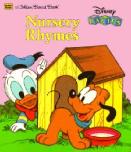 Golden Board Bks Disney Babies Nursery Rhymes By Darrell Baker 1987 Hardcover Ebay