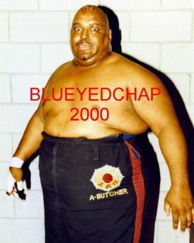 ABDULLAH THE BUTCHER WRESTLER 8 X 10 WRESTLING PHOTO  NWA