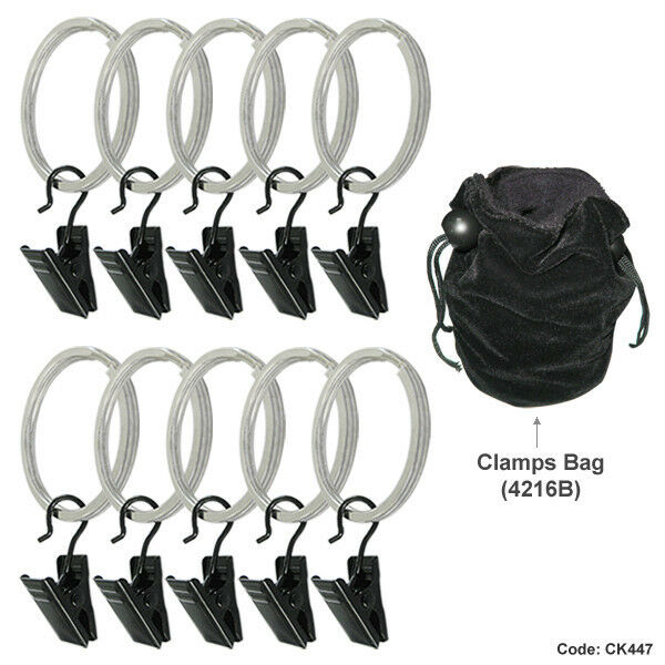 LINCO Studio Backdrop Background Muslin Photo Holders Clamps Clips Support