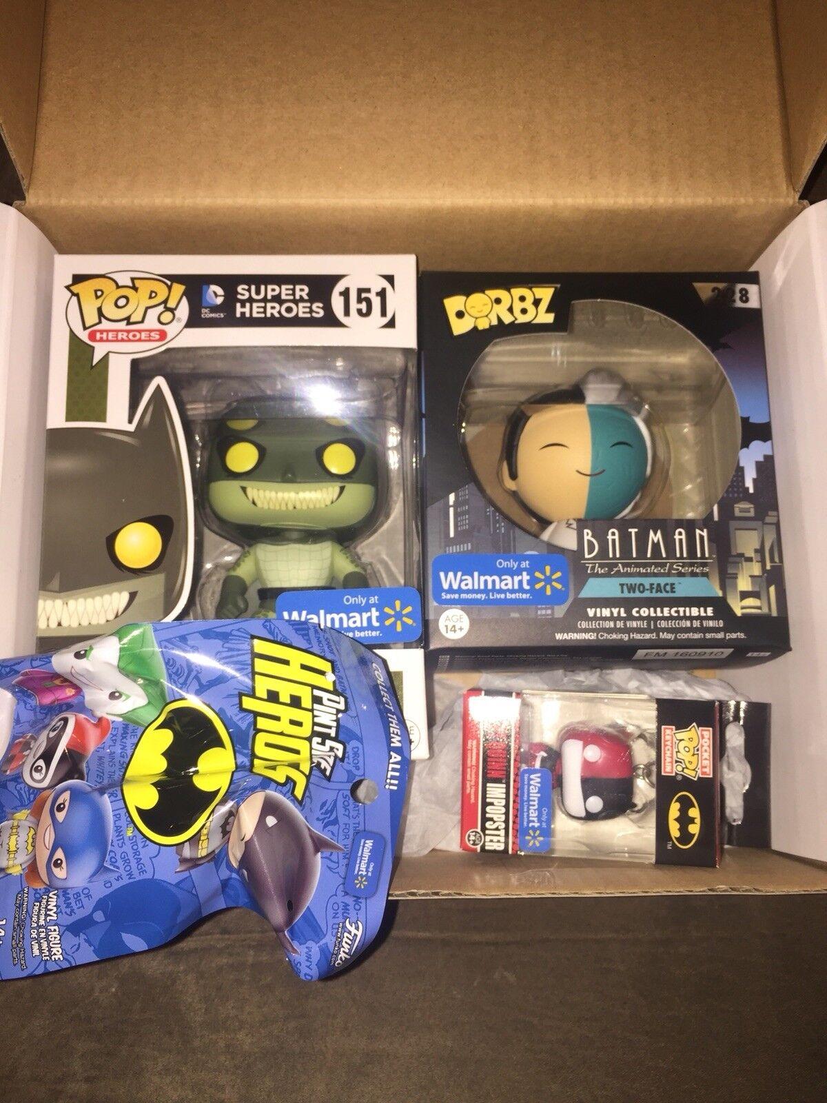 51bf9a4280a Funko Pop 2016 DC Walmart Black Friday Killer Croc Imposter Batman for sale  online