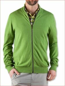 new-STIO-men-2125-M-039-s-sweater-synthis-zip-10-wool-piquant-green-L-MSRP-119