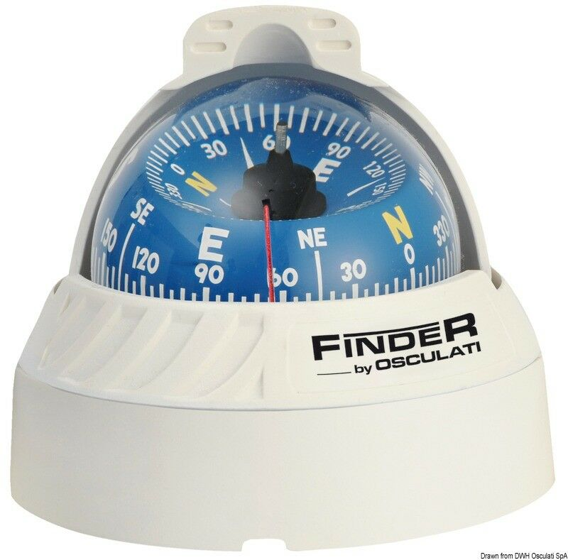 Finder Compass Compass Case ABS Illuminated Boat Camping Leisure Building