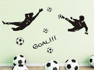 PEGATINA-PARED-WALL-Calcomania-Futbol-FUTBOLISTA-PORTERO-CON-NOMBRE-Set-NUEVO