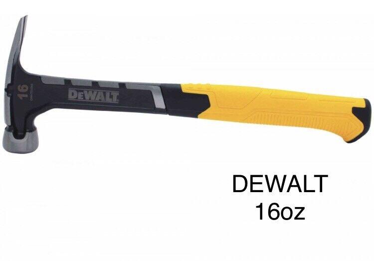 DeWalt One-Piece Rip Claw Hammer 16oz (0,456kg)-DWHT51048