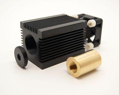 Brass Laser DIY Host/For TO18 5.6mm Laser Diode w/h cooling fan