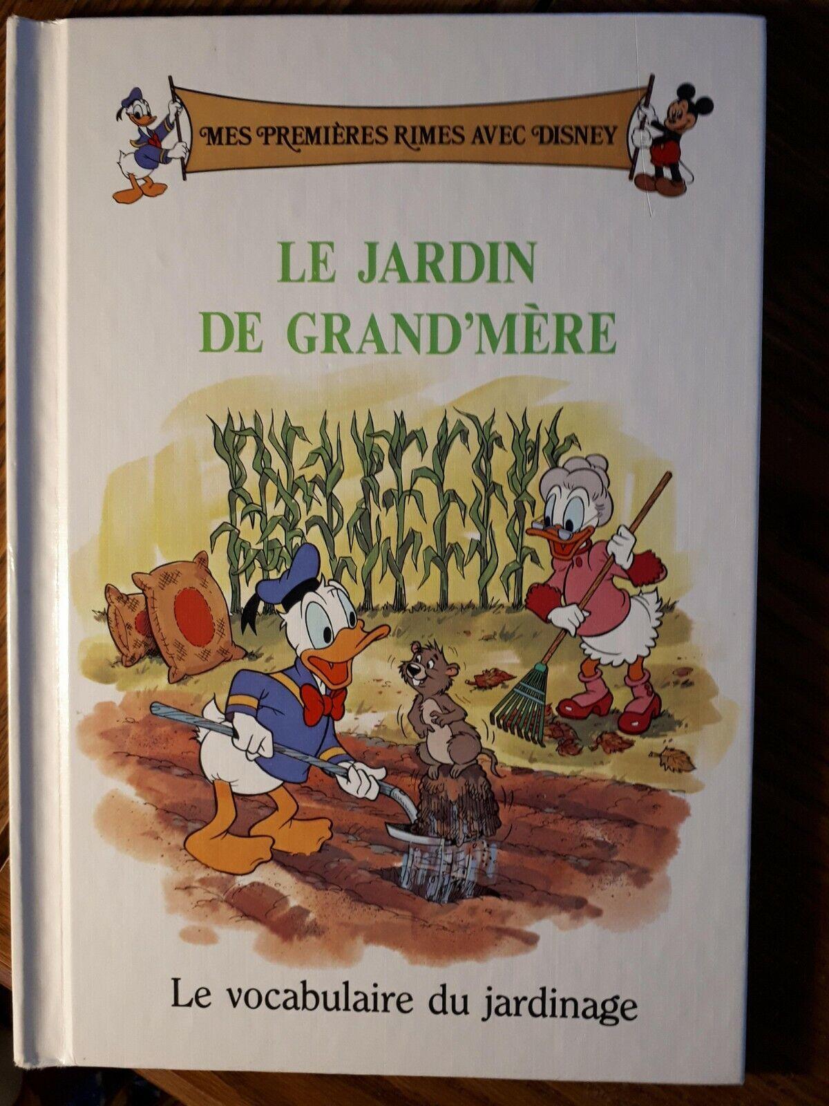 Le Jardin De Grand Mere choose livre, disney, mes premiÈres avec disney, 1990s, en français  ,vocabulaire