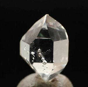 5554-2-Herkimer-034-Diamant-034-ca-1-4-cm-UV-Einschluesse-Herkimer-Quarz-USA