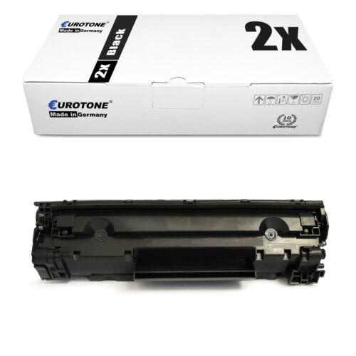 2x ECO Patrone für Canon I-Sensys MF-4370-dn MF-4340-d MF-4018 MF-4120
