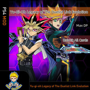 Yu-gi-oh-Legacy-of-The-Duelist-Link-Evolution-PS4-Mod-Max-money-Unlock-all-card