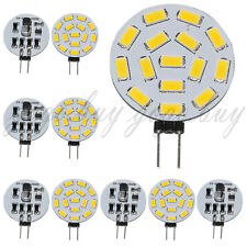 10 X G4 Reading Light 525-Lumen 15 SMD 5630 LED Warm White Bulb Lamp 12V 24V AC