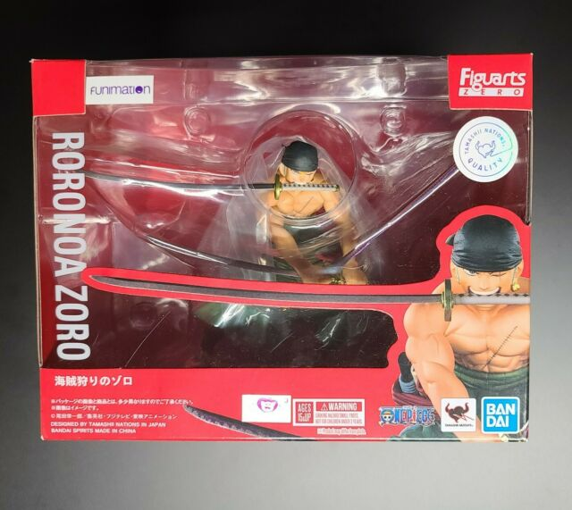 Japan Anime Bandai One Piece Figuarts Zero Roronoa Zoro Figure Collectibles Toys For Sale Online Ebay
