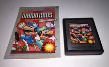 Mario Bros. (Atari 2600, 1983) with Instruction Booklet