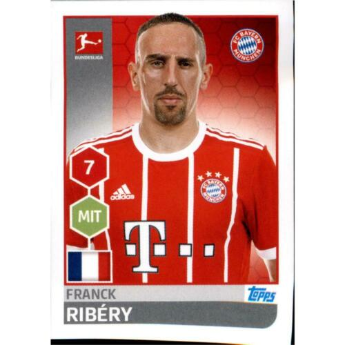 Franck Ribery Sticker 224 TOPPS Bundesliga 2017//2018