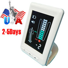 "Dental Endodontic Apex Locator Root Canal Finder Meter Color 4.5"" LCD Big Screen"