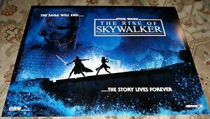 Star Wars Rise Of Skywalker 13 1 4inx17 5in Original Cinemark Poster Ferguson Ebay