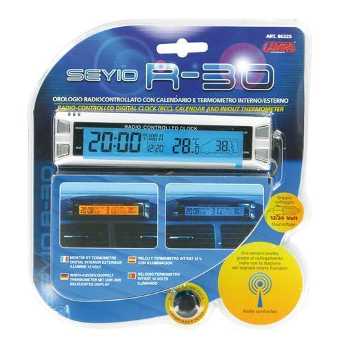 Seyio R-30-12//24V Orologio radiocontrollato