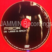 P90x - Dvd 05 - Disc 5 - Legs & Back - Official Release -brand