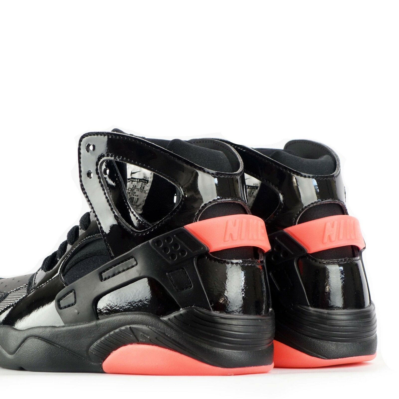 ce813486d2dd Nike Flight Huarache Juniors Youth Older Kids Shoes in Black