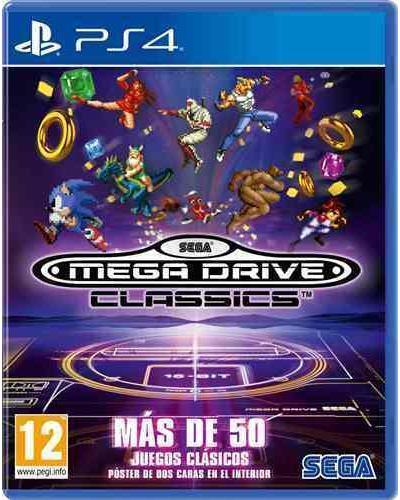 SEGA MEGA DRIVE CLASSICS PARA PS4 NUEVO