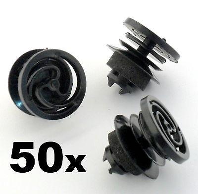 50x Land Rover Defender Plastic Trim Clip //Stud Fastener for Interior Door Card