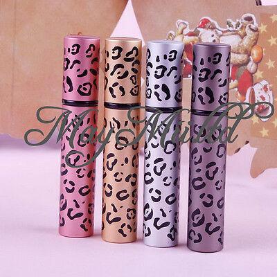 New Fashion Travel Refillable Leopard Empty Atomiser Spray Perfume Bottle 8ml J