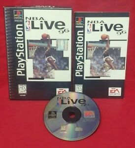 NBA Live 96 Basketball Playstation 1 2 PS1 PS2 Game Complete Works Long Box