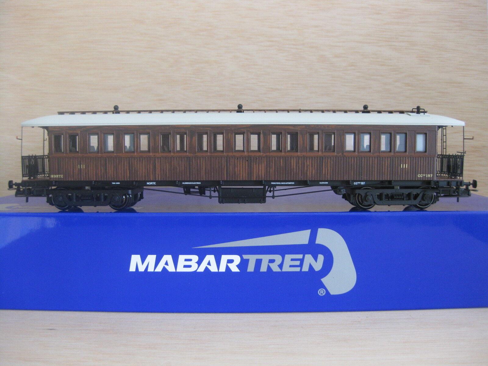 HO - Mabar - ref.81655 - Coche viajeros NORTE CC197 3ª clase