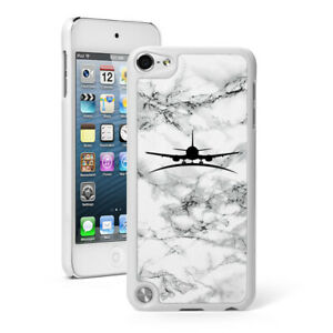 Marble Case For Apple iPod Touch 5th 6th 7th Hard Slim Thin Cover Airplane