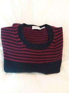 Original-Moncler-Maglione-Tricot-Girocollo-virgin-Wool-Knit-Sweater-XL