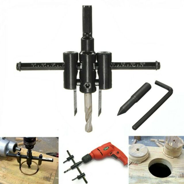 Saw Round Circle Drill with Cowling 40-200mm SIL293 Adjustable Hole Cutter