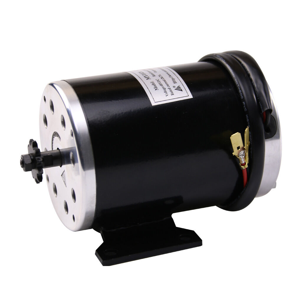 1000 W 48V electric brush motor MY1020 w base for scooter ebike eATV 11T T8F