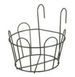 Tulip-Bell-Balcony-Round-Planter-Basket-Window-Box-Pot-Holder-Hanger-Hooks-20-cm