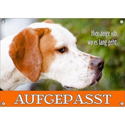 2019 Neuer Stil Hundeschild - English Pointer - Tierschild - Top QualitÄt Ohne RüCkgabe